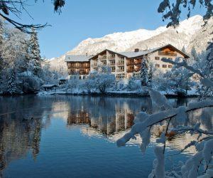 """""""Schneegestöber – Exzellent"""" im Hotel Badersee in Grainau"""