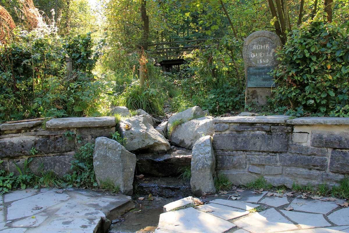 Quelle der Ruhr - RuhrtalRadweg