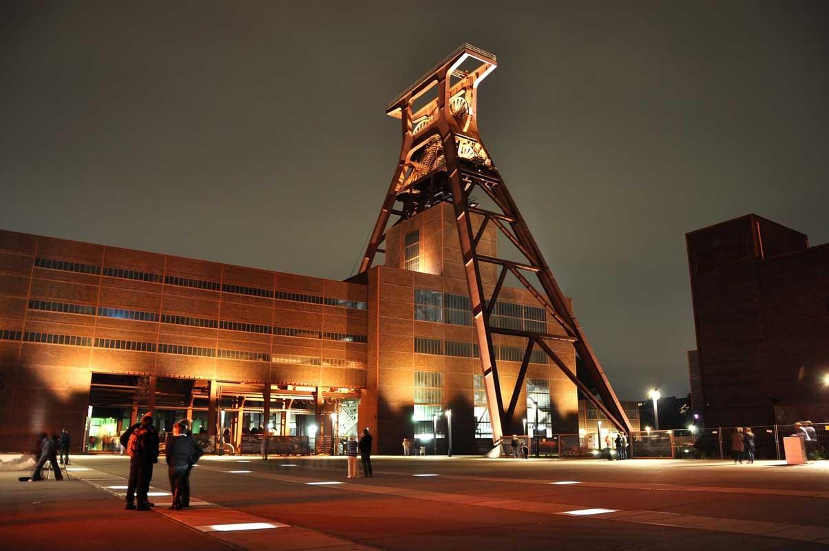 Zeche Zollverein in Essen - RuhrtalRadweg