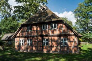 Fachwerkhaus in Wilsede - Wümme-Radweg