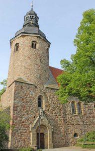 St. Viti-Kirche in Zeven - Radfernweg Hamburg-Bremen