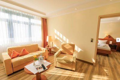 Zimmer im Kurhotel Sonnenhof in Bad Füssing
