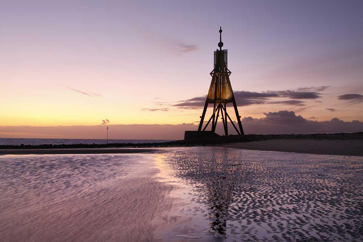 Kugelbake, Cuxhaven - vom Teufelsmoor zum Wattenmeer
