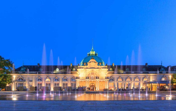 Kaiserpalais im Kurpark Bad Oeynhausen - Else-Werre-Radweg
