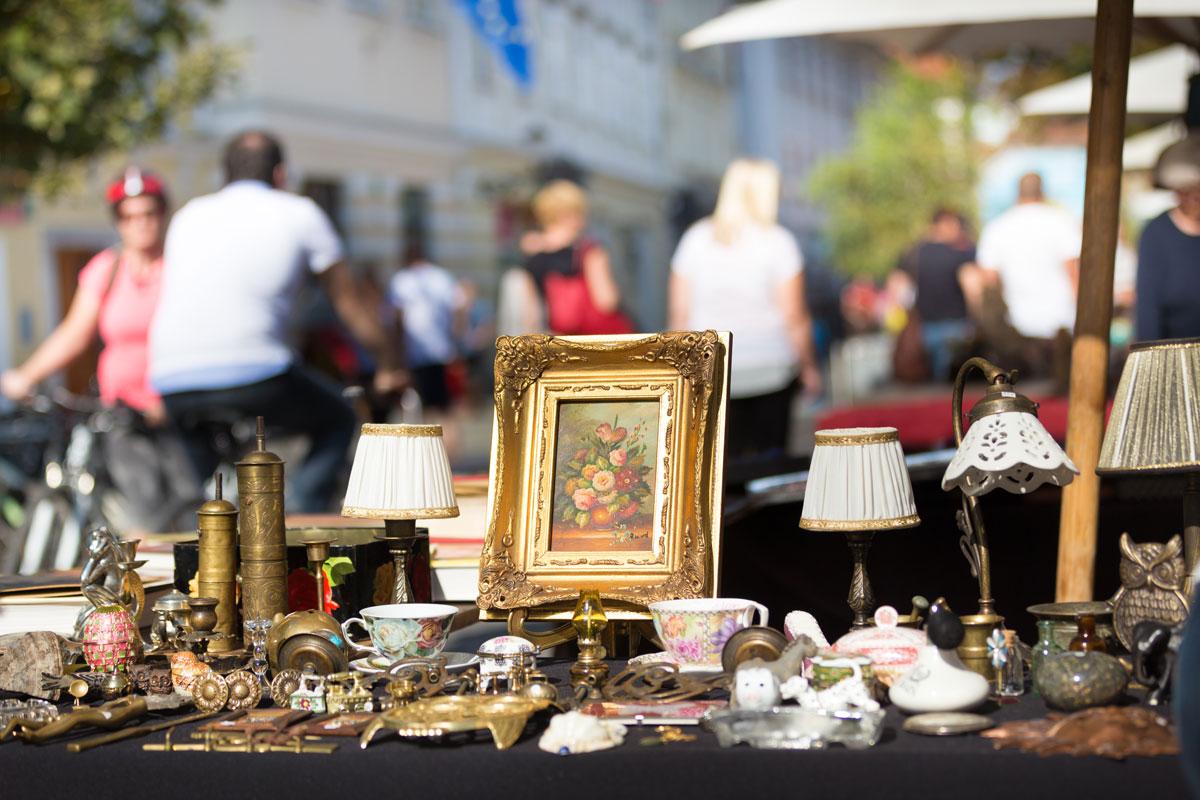 trödelmarkt antikmarkt Flohmarkt