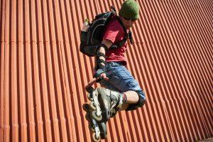 freestyle rollerblading
