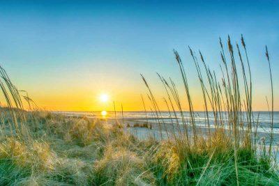 Sonnenuntergang an der Nordsee - vom Teufelsmoor zum Wattenmeer