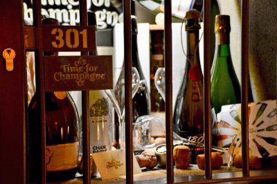 Champagner in der Winebank Köln
