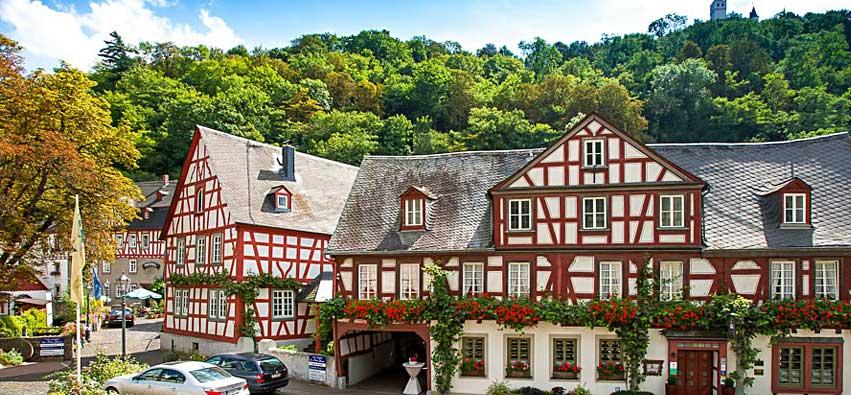 Landgasthof Zum weißen Schwanen, Braubach