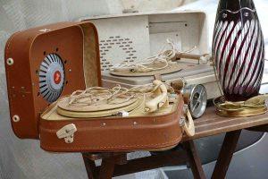 grammophon alltagsgegenstand