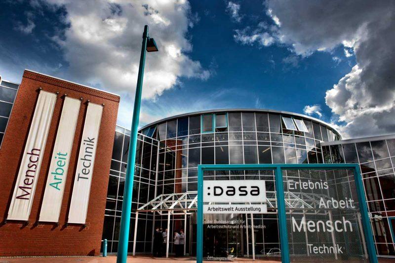 Außenansicht DASA Arbeitsweltausstellung