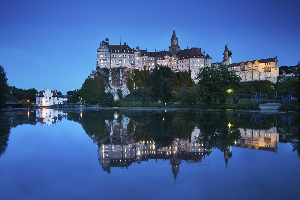 Schloss Sigmaringen - Donau-Radweg