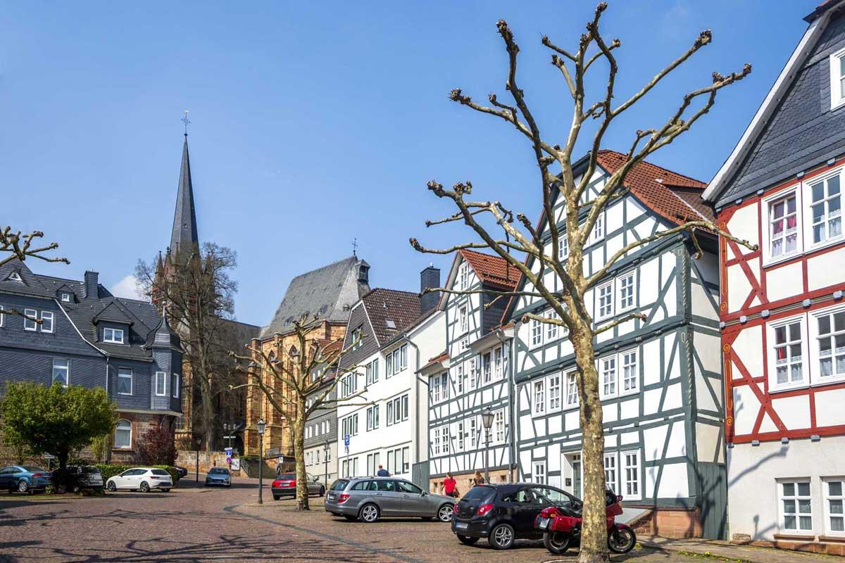 Frankenberg (Eder) - Eder-Radweg