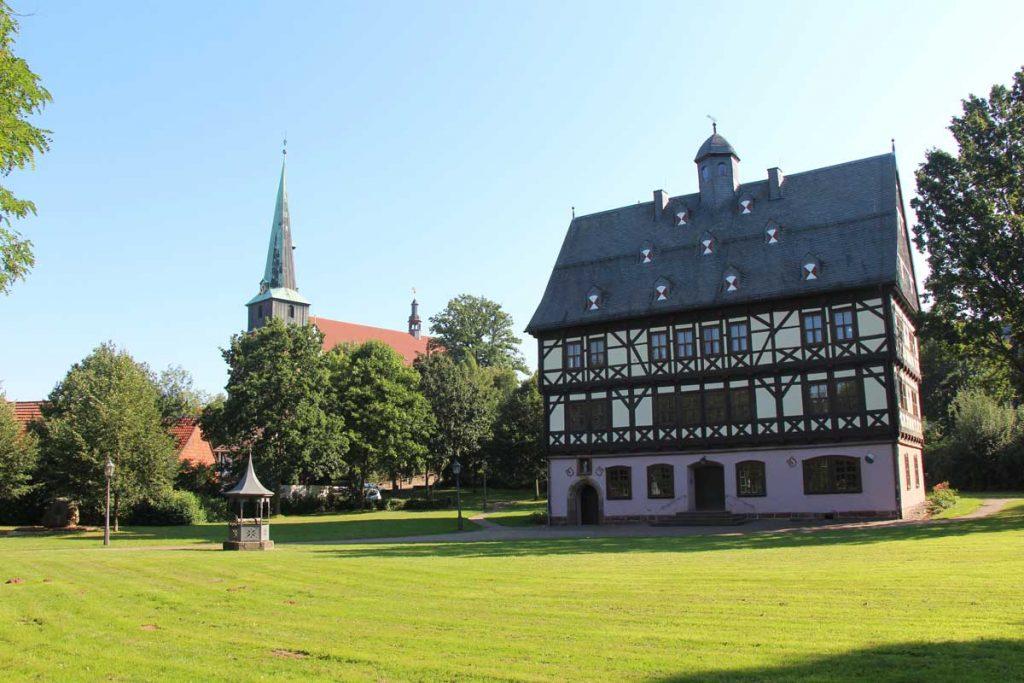 Schloss Gieboldehausen - Eichsfeldwanderweg
