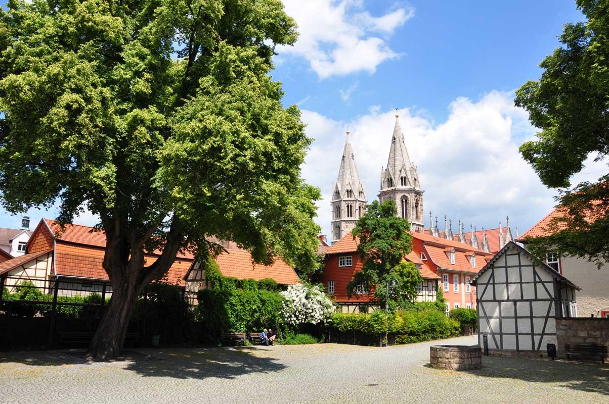 Altstadt Mühlhausen/Thüringen - Eichsfeldwanderweg