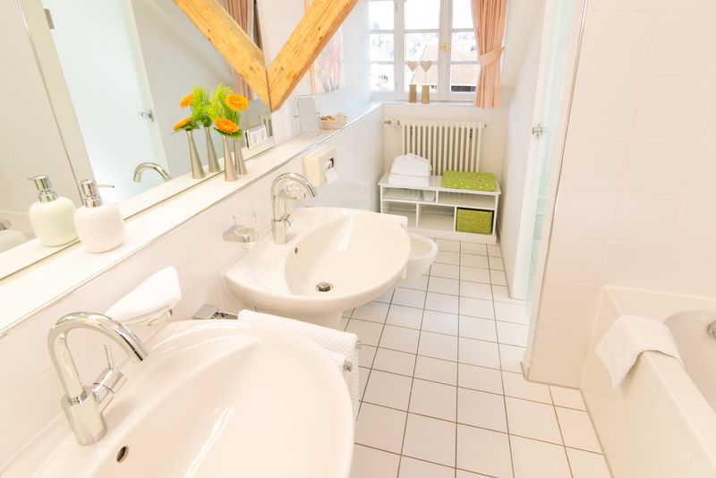 Geldernhaus-Badezimmerbeispiel