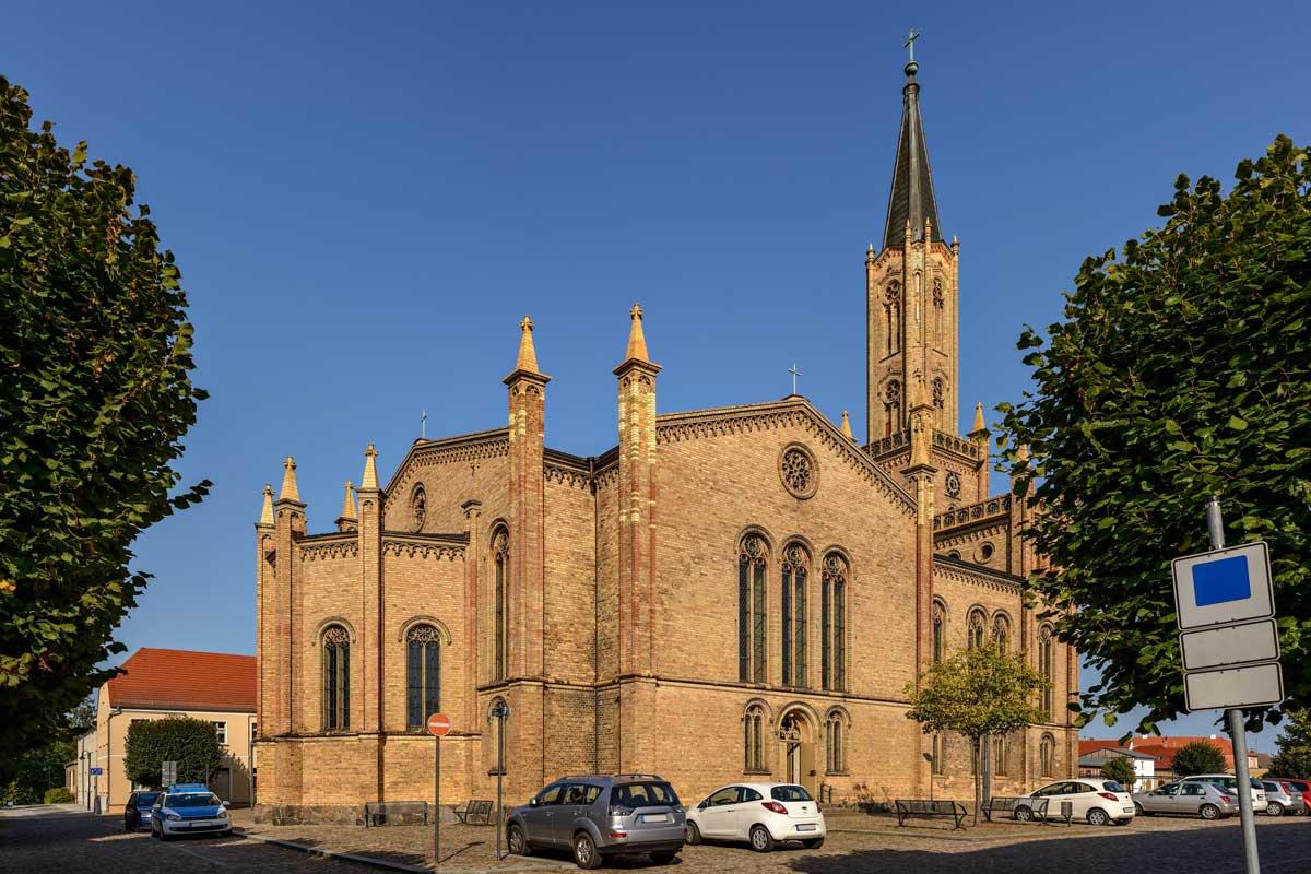 Stadtkirche Fürstenberg (Havel) - Havel-Radweg