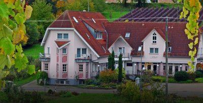 Hotel Castell Leinsweiler-Assenansicht