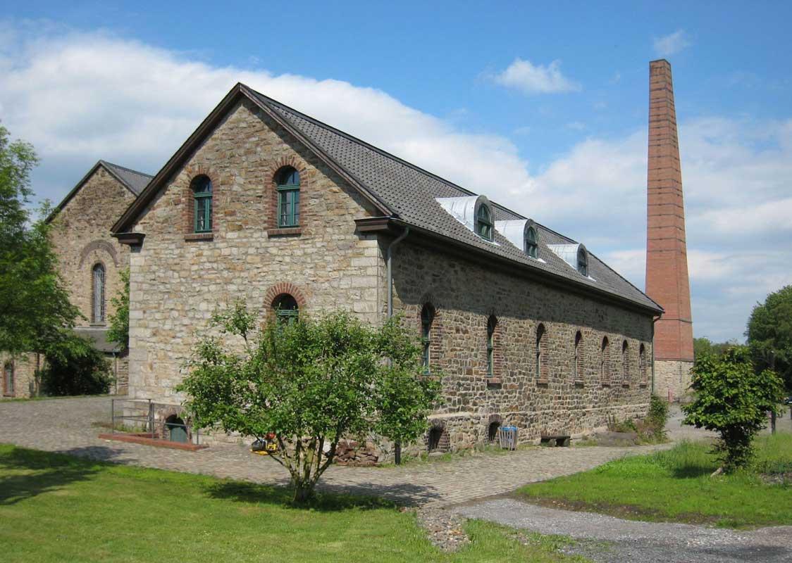 Historisches Betriebsgebäude der Zeche Nachtigall - LWL-Industriemuseum