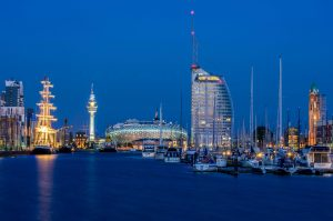 Bremerhaven am Abend