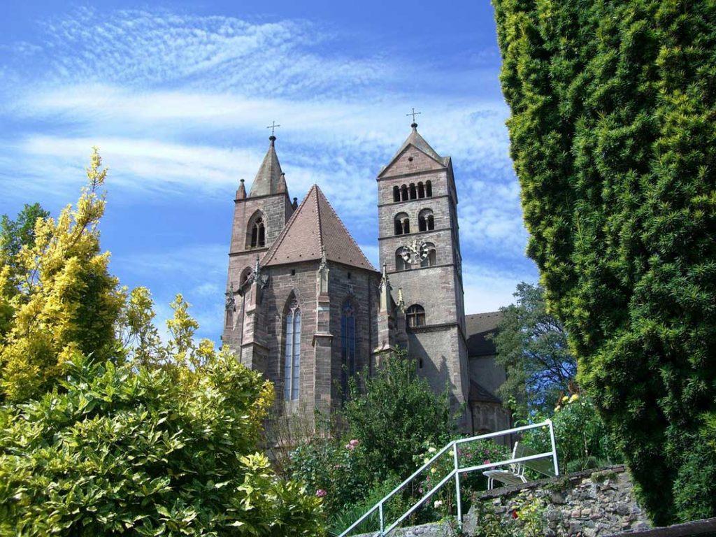 Münster in Breisach - Rhein-Radweg
