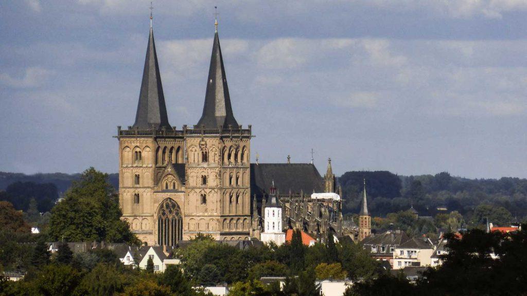 Dom zu Xanten - Rhein-Radweg