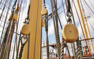 schiffstampen seile Hafen
