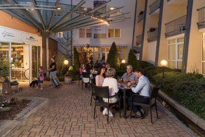 Schwarzwaldhotel Gengenbach-Terrasse