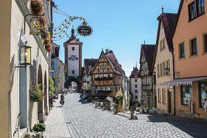 Rothenburg ob der Tauber - Taubertalradweg, Aischtalradweg