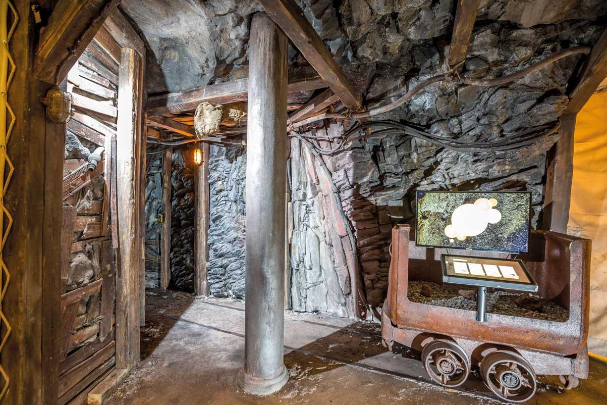 Geysir-Zentrum, Ausstellung