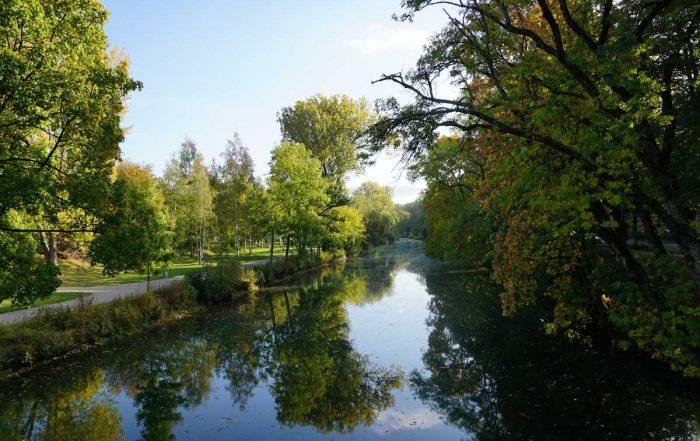 Donaulandschaft bei Tuttlingen - Donau-Radweg