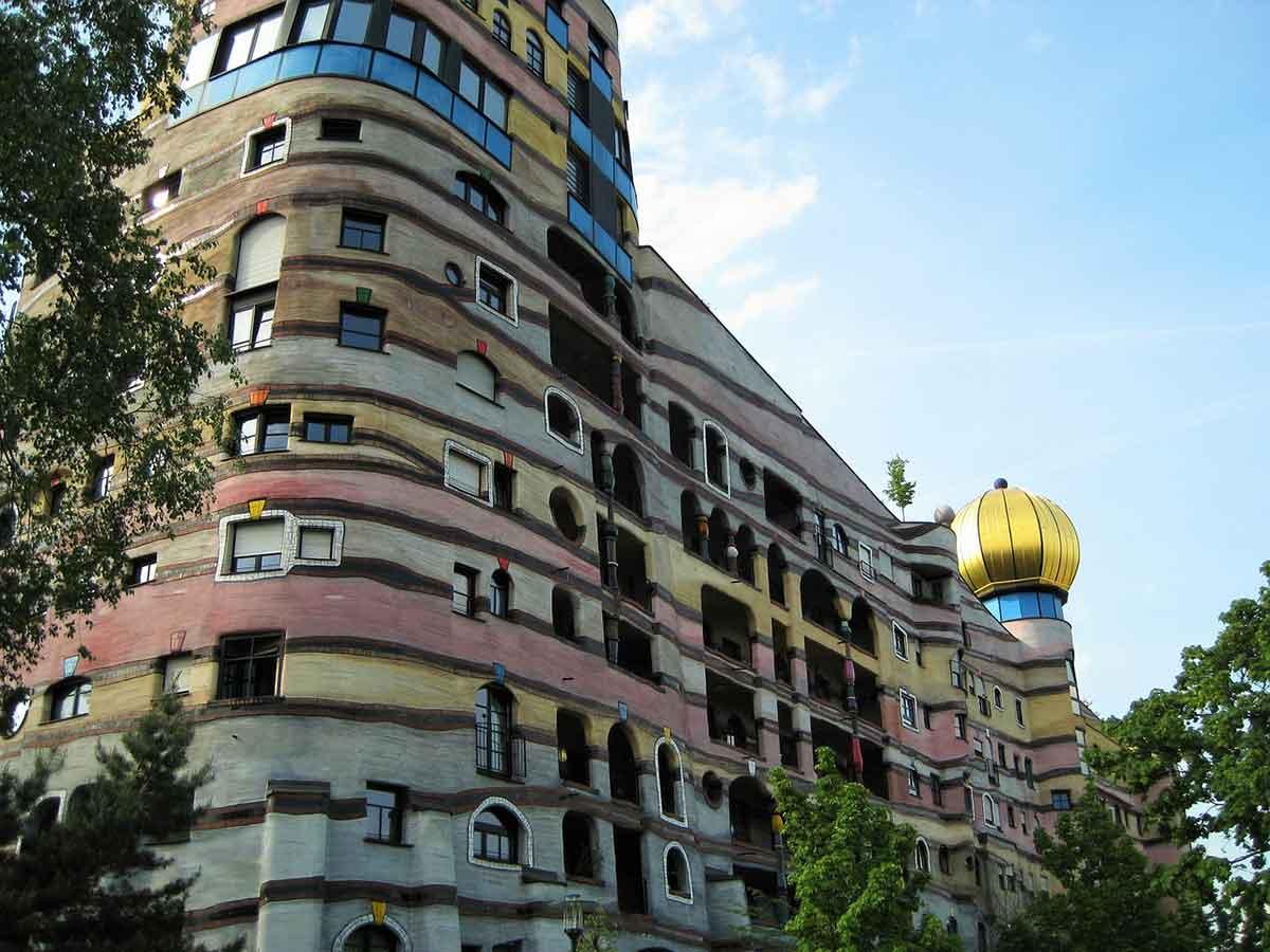 Hundertwasserspirale Darmstadt