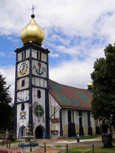 hundertwasserkirche baernbach