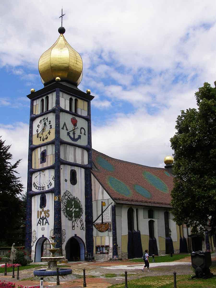 Hundertwasserkirche Bärnbach