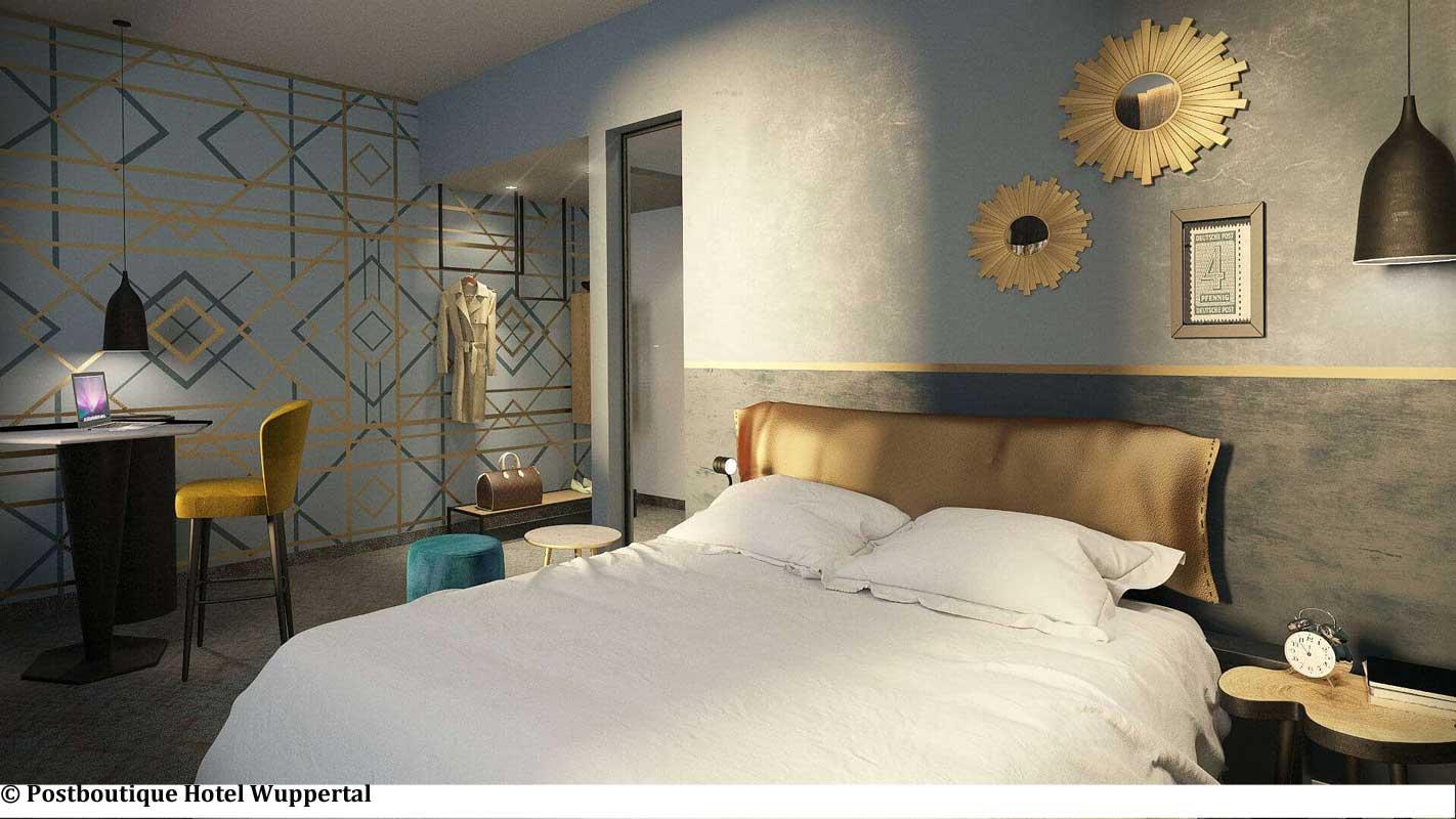 Neueroeffnungen postboutique hotel wuppertal der varta for Hotel wuppertal