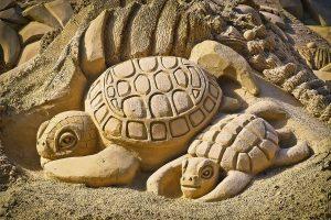 Nicht im Sande verlaufen - das Sandskulpturen-Festival in Binz