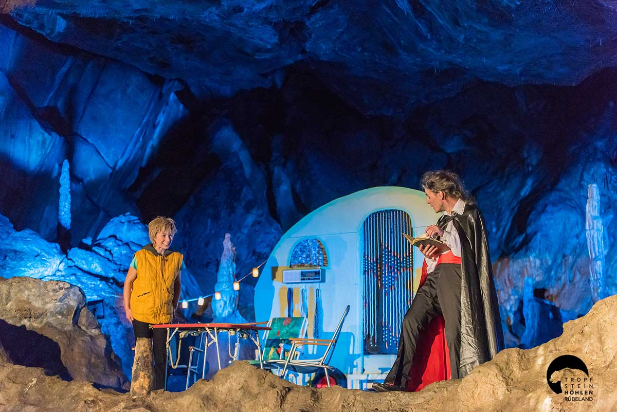 Baumannshöhle, Theater