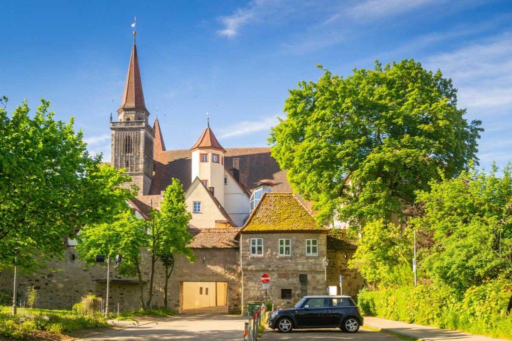 Ansbach - Europäischer Wasserscheideweg