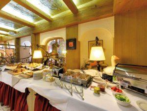Frühstücksbuffet, Hotel Alpenhof