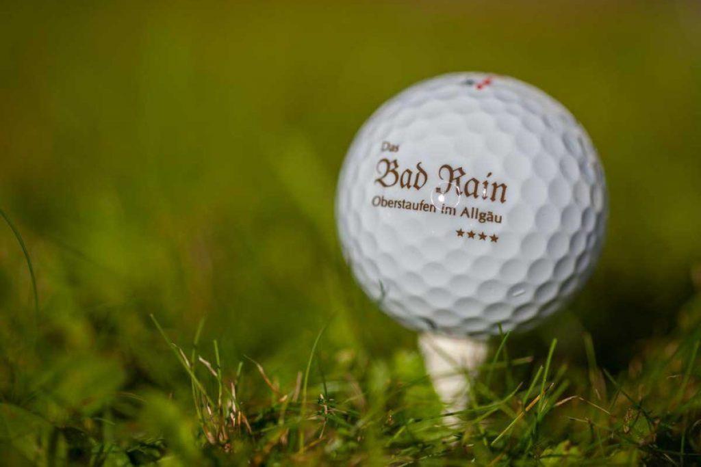 Golfen im Das Bad Rain in Oberstaufen