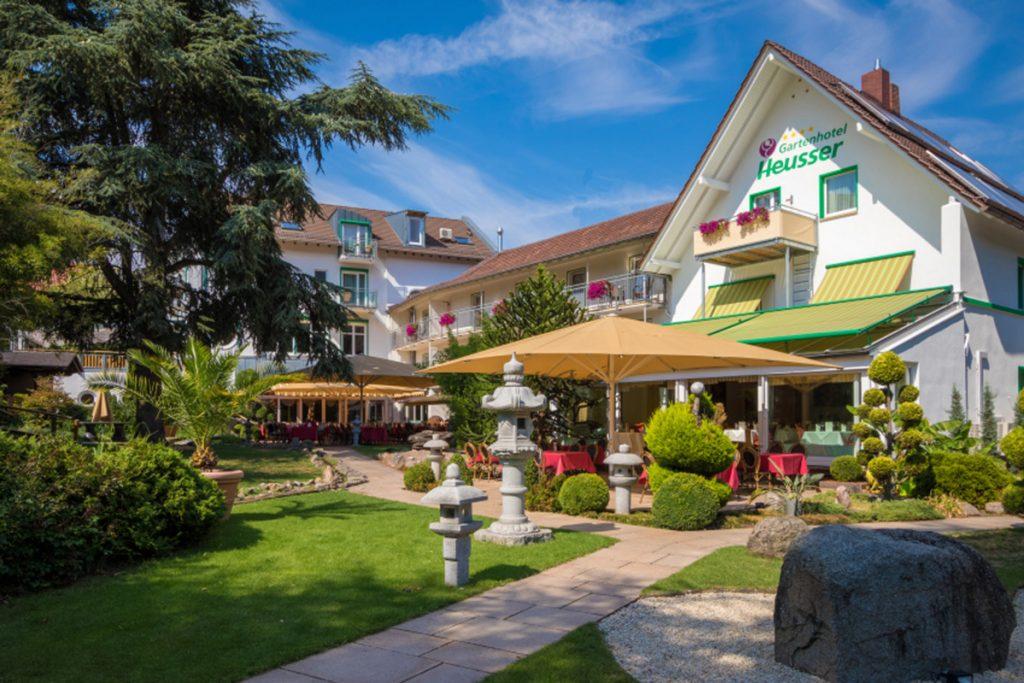Urlaub und Wellness im Gartenhotel Heusser