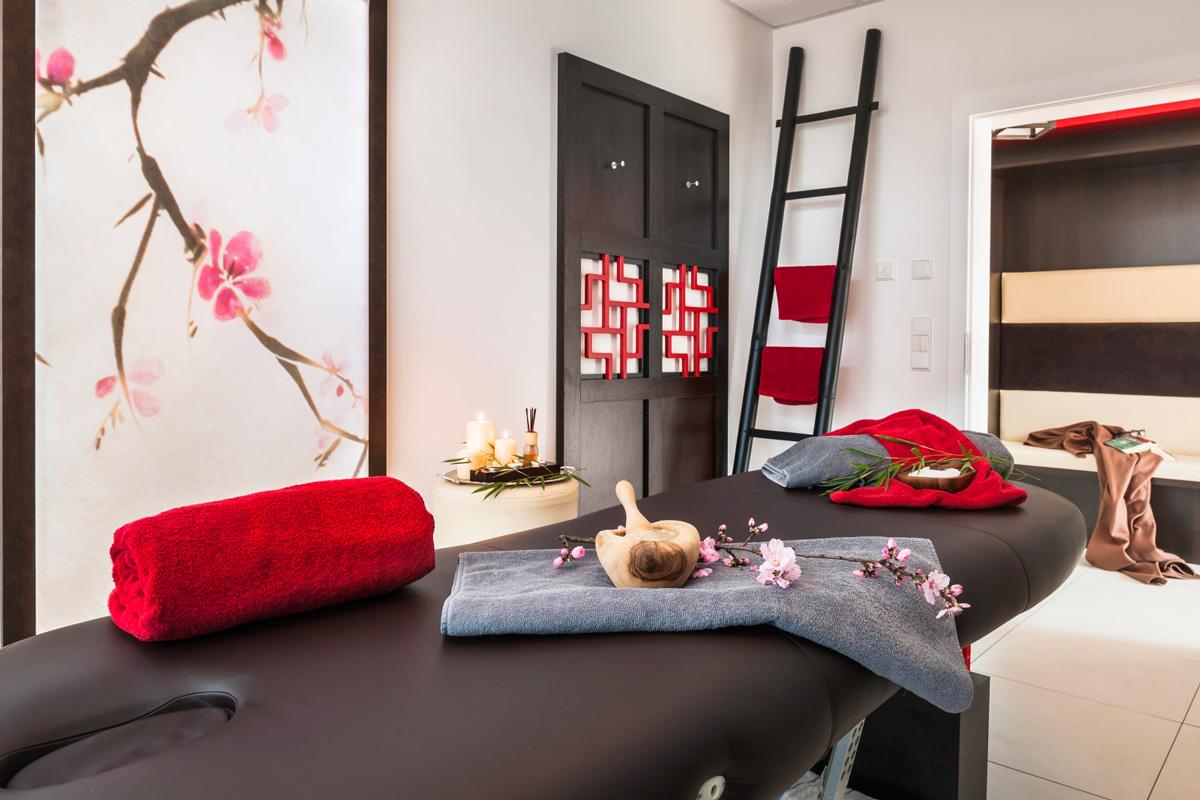 Massage, Gartenhotel Heusser