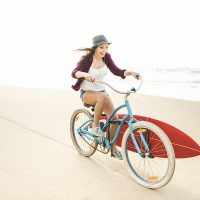 beach cruiser surferin