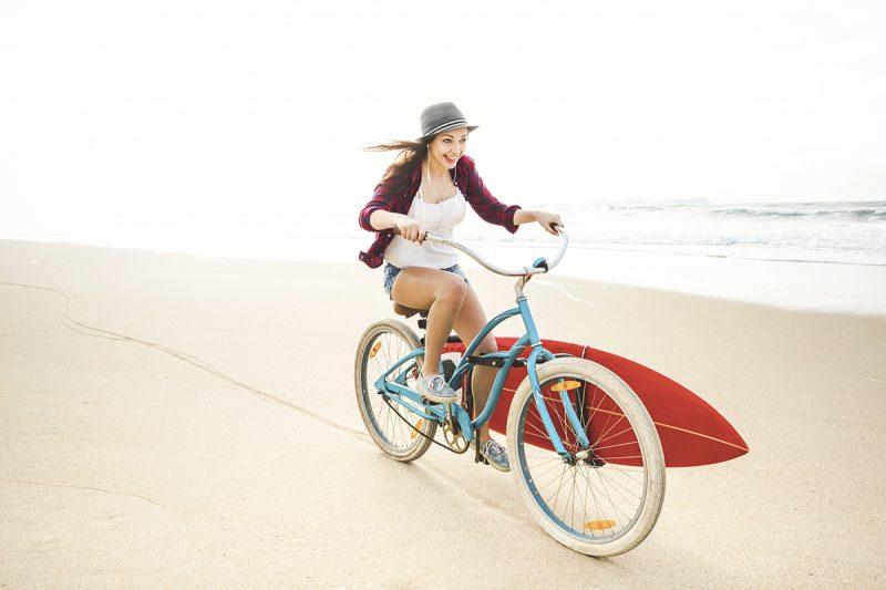 beach cruiser surferin