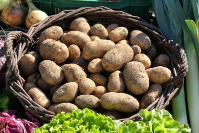 Kartoffeln im Korb - Schwäbische Kartoffeltour