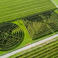 labyrinthe vogelperspektive