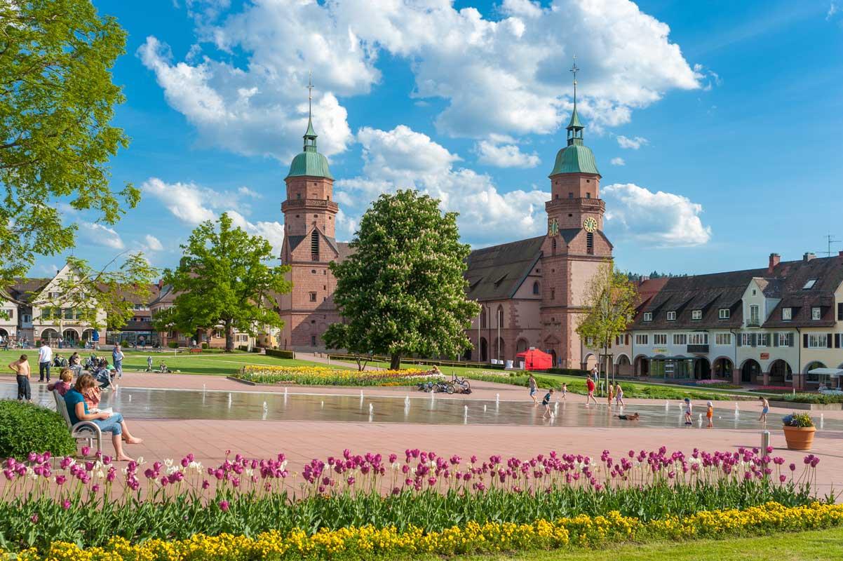 Freudenstadt, Marktplatz - Ostweg