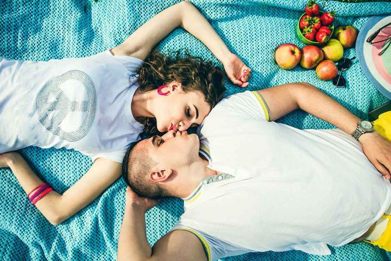 picknick paar