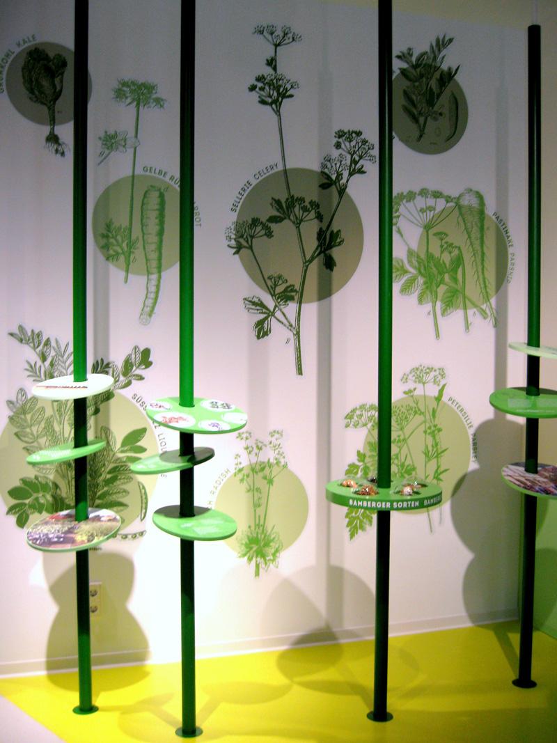 Welterbe-Besucherzentrum Bamberg - Exponat zum Themenbereich Gärtnerstadt