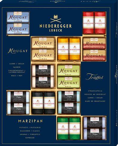 Lübecker Marzipanselektion von Niederegger